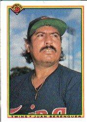 1990 Bowman 410 Juan Berenguer
