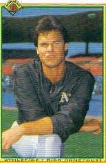 1990 Bowman 450 Rick Honeycutt