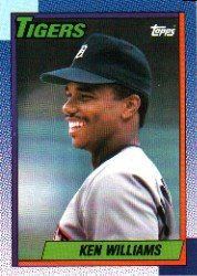 1990 Topps 327 Ken Williams