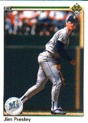 1990 Upper Deck 315 Jim Presley