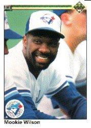 1990 Upper Deck 481 Mookie Wilson