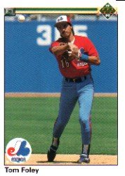 1990 Upper Deck 489 Tom Foley
