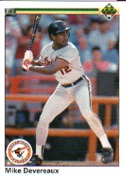 1990 Upper Deck 681 Mike Devereaux