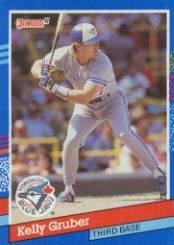 1991 Donruss 149 Kelly Gruber