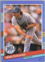 1991 Donruss 302 Mike Schooler