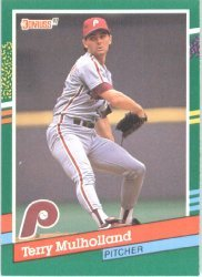 1991 Donruss 541 Terry Mulholland