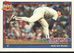 1991 Topps 1 Nolan Ryan