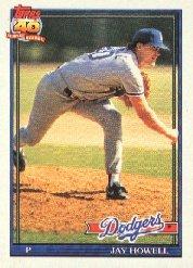 1991 Topps 770 Jay Howell