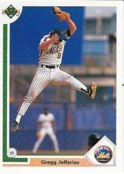 1991 Upper Deck 156 Gregg Jefferies