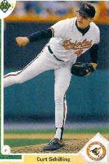 1991 Upper Deck 528 Curt Schilling