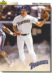 1992 Upper Deck 330 Mike Maddux