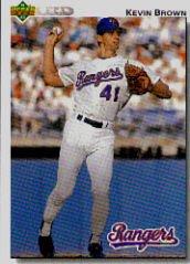 1992 Upper Deck 578 Kevin Brown
