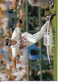 1999 Stadium Club 139 B.J. Surhoff