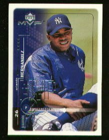 1999 Upper Deck MVP 145 Orlando Hernandez