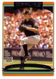 2006 Topps Update 164 Josh Johnson (RC)