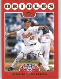 2008 Topps Opening Day 136 Jeremy Guthrie
