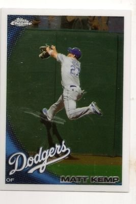 2010 Topps Chrome 69 Matt Kemp