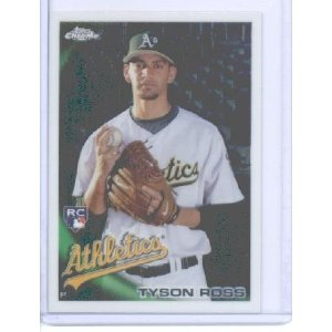 2010 Topps Chrome 204 Tyson Ross RC
