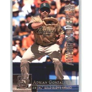 2009 Upper Deck 960 Adrian Gonzalez AW