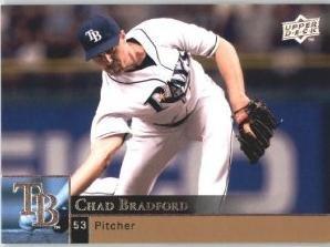 2009 Upper Deck 897 Chad Bradford
