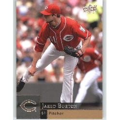 2009 Upper Deck 606 Jared Burton