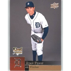 2009 Upper Deck 1006 Ryan Perry SP RC