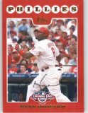 2008 Topps Opening Day 46 Ryan Howard