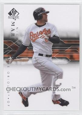 2008 SP Authentic 81 Nick Markakis