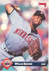 1993 Donruss 79 Willie Banks