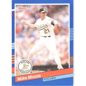 1991 Donruss # 161 Mike Moore