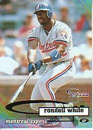 1998 SkyBox Dugout Axcess #30 Rondell White