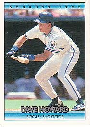 1992 Donruss 567 Dave Howard