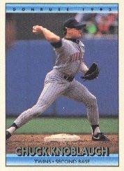 1992 Donruss 390 Chuck Knoblauch