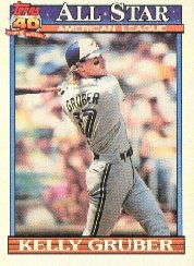 1991 Topps 388 Kelly Gruber AS