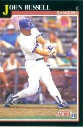 1991 Score 802 John Russell
