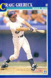 1991 Score 69 Craig Grebeck UER