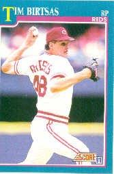 1991 Score 648 Tim Birtsas