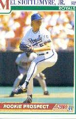 1991 Score 361 Mel Stottlemyre Jr.