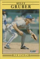 1991 Fleer 175 Kelly Gruber