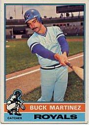 1976 Topps #616 Buck Martinez