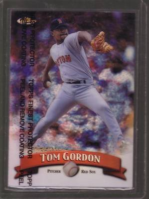1998 Finest #251 Tom Gordon