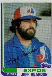 1982 Topps #667 Jeff Reardon
