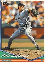 1994 Topps #471 Phil Leftwich RC