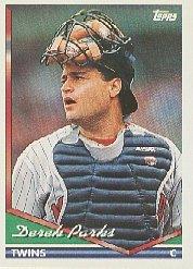 1994 Topps #649 Derek Parks