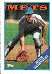 1988 Topps 610 Keith Hernandez