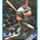 1988 Topps 631 Jack Howell