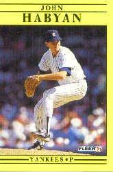 1991 Fleer Update #42 John Habyan