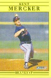 1991 Fleer Update #74 Kent Mercker
