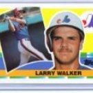 1990 Topps Big #296 Larry Walker