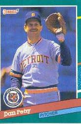 1991 Donruss #675 Dan Petry